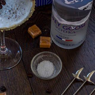 Salted Caramel Grey Goose Espresso Martini.