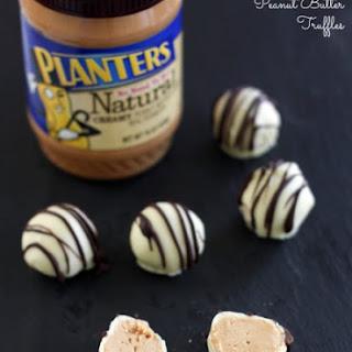 White Chocolate Peanut Butter Truffles