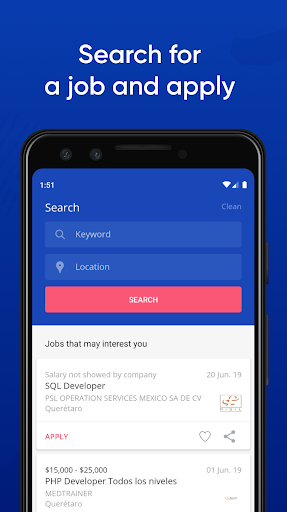 Jobs Search and Employment - OCCMundial screenshots 1