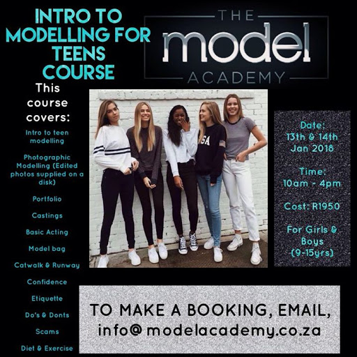 Introduction to a Modelling for Teens (9-15yrs) : The Model Academy