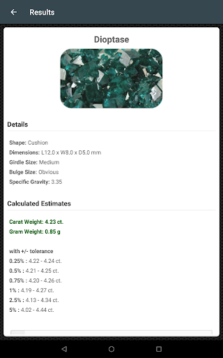 Gemstone Mm To Carat Calculator : gemstone, carat, calculator, Carat, Weight, Calculator, Download, Android, APKtume.com