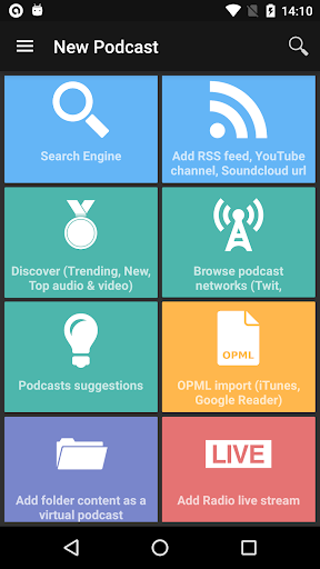 Screenshot for Podcast Addict - Donate in United States Play Store