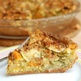 Zucchini & Ricotta Pie