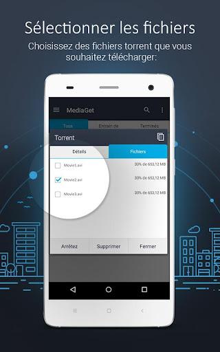 MediaGet - torrent client screenshot 3