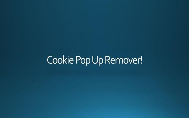 Remove Cookie Pop Up