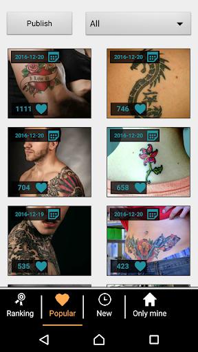 Tattoo my Photo 2.0 screenshot 5