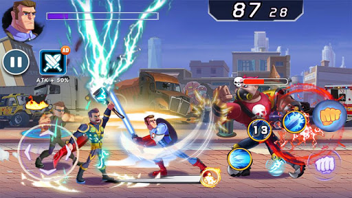 Captain Revenge - Fight Superheroes apkmr screenshots 14