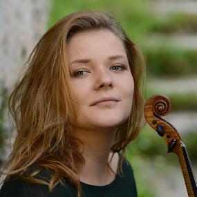 Maja by Jani Novak - People Musicians & Entertainers ( maja violin,  )