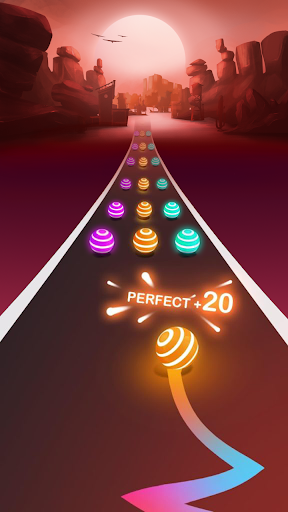 BLINK ROAD : Ball Dance Tiles - Game For BLACKPINK screenshots 2