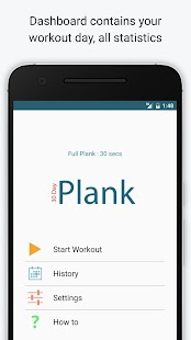 30 Day Plank Challenge- screenshot thumbnail