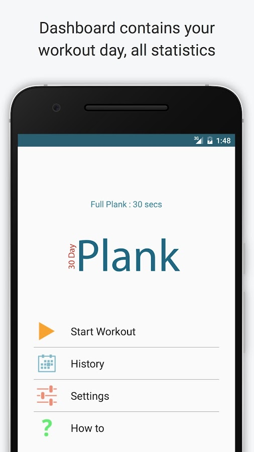 30 Day Plank Challenge- screenshot