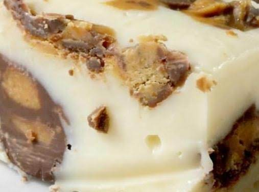 White Chocolate Reese's Fudge Recipe