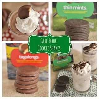 Girl Scout Cookies Milkshake