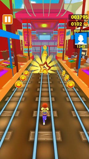 Subway Run - Train Surfing 3D 1.0 screenshots 2