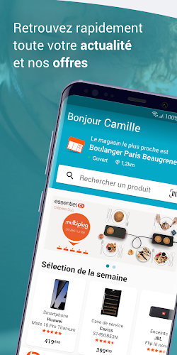 Boulanger Android App Screenshot