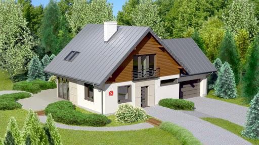 projekt Dom przy Cyprysowej 5