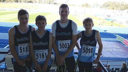 Nicholas Tomlinson, Cody Shepherdson, Will Alexander and Felix Cobb-Johnson.
