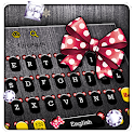 Cute Micky Bowknot Keyboard Theme icon