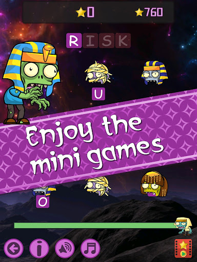 Words vs Zombies - fun word puzzle game 5.10.20 screenshots 17