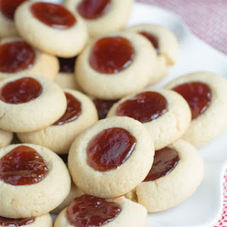 Butter Cookies With Strawberry Jam Recipes