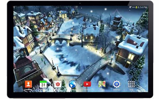 無料娱乐Appの雪のクリスマス3Dライブ壁紙|記事Game