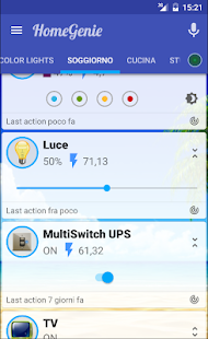 HomeGenie Plus- screenshot thumbnail