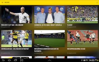Screenshot of NAC BREDA LIVE