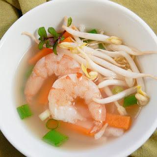 Shrimp and Lemongrass Soup.