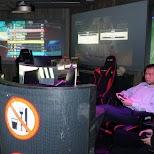 playing video games at Showtime at Knutsford Terrace in Hong Kong in Hong Kong, , Hong Kong SAR