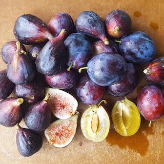 Small Batch Spiced Fig & Plum Jam.