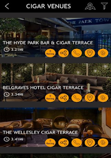 CigarVenues- screenshot thumbnail