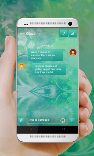 玩免費個人化APP|下載鸽子靛蓝 GO SMS app不用錢|硬是要APP