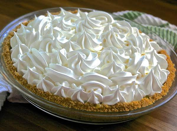 Mom's Triple~layer Lemon Pie! Recipe