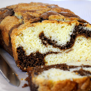 Coffee Swirl Quick Bread