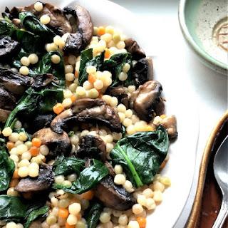 Mushroom Couscous.