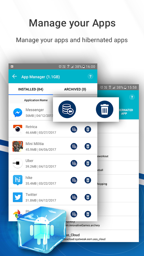 Systweak Android Cleaner- screenshot