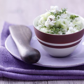 Cottage Cheese and Cucumber Spread.