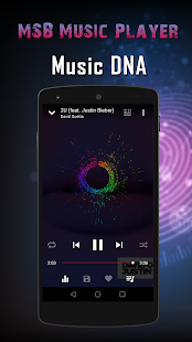 MSB Music Player - náhled