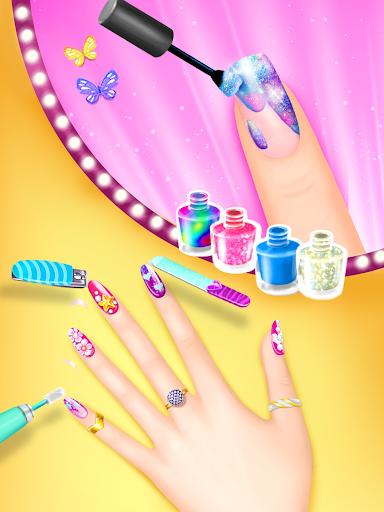 Nail Salon Manicure - Fashion Girl Game 1.0.1 screenshots 8