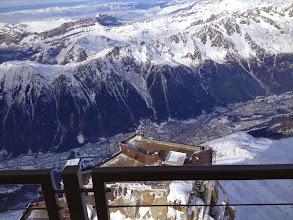 Photo: Chamonix from top of Augille du Midi