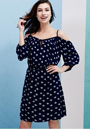 Shop cold shoulder dresses at George.com