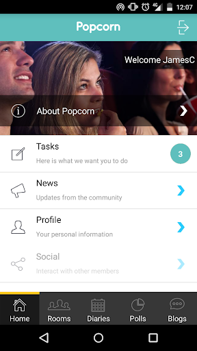 Popcorn community