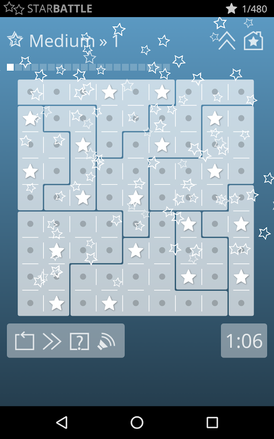 Star Battle Brain Games- screenshot