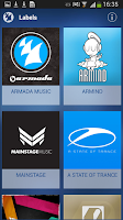 Screenshot of Armada Music