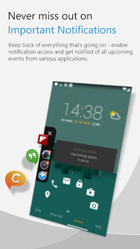 C Locker Free (Widget Locker) screenshot 3