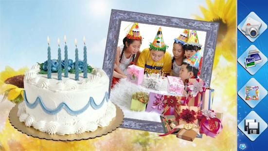 Birthday Frames - náhled