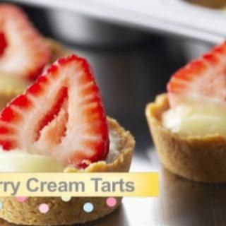 Strawberry Cream Tarts.