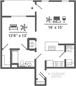 Go to A1L + Garage Floorplan page.