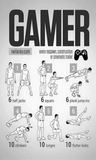 Superheroes exercises