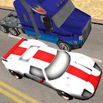 Desert Traffic Race Icon